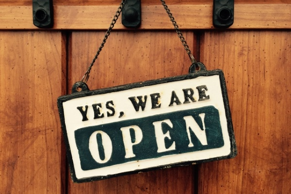 YES , WE ARE OPEN