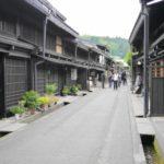 高山市の古い街並み