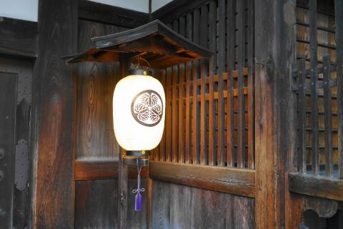高山陣屋の提灯